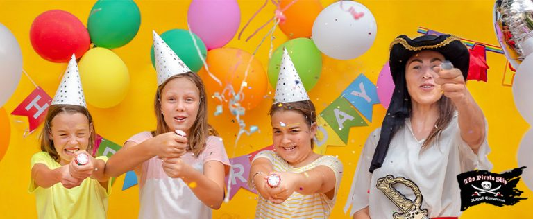 6 Creative Party Games for Your Little Pirate Crew