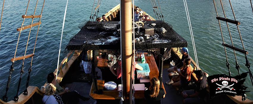 6 Team Building Activities You Can Do on a Pirate Ship Cruise