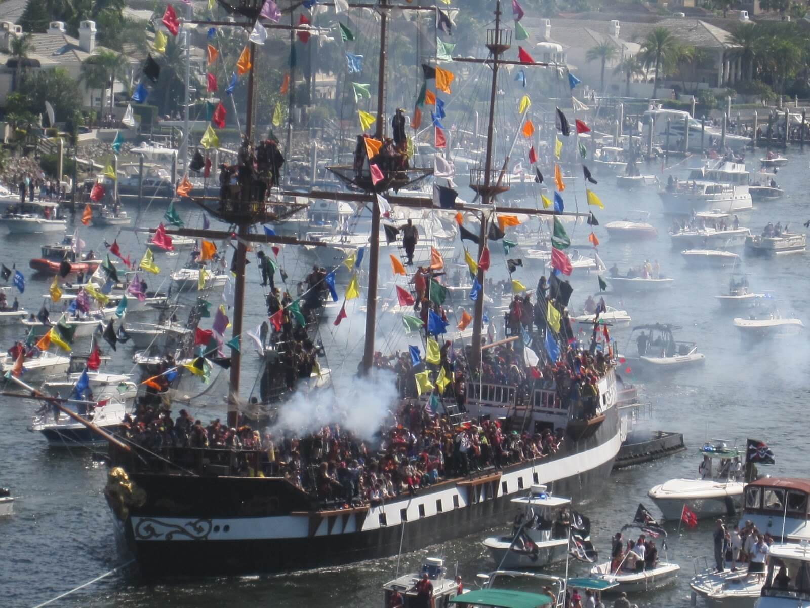 Gasparilla Parties Pirate Royal Conquest