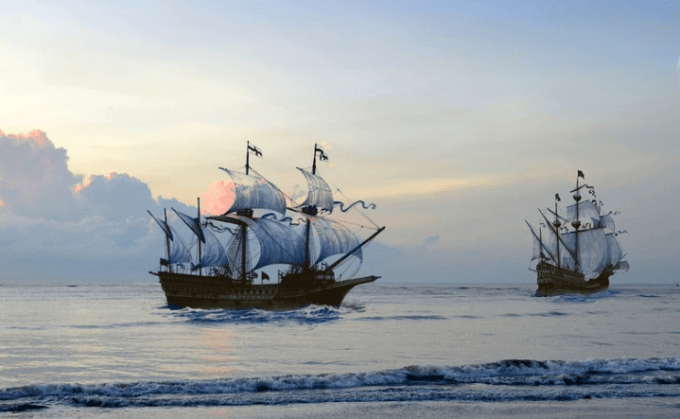 pirates captured a trip pirate conquest