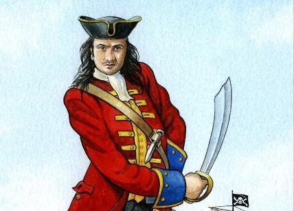 """John """"Calico Jack"""" Rackham"""