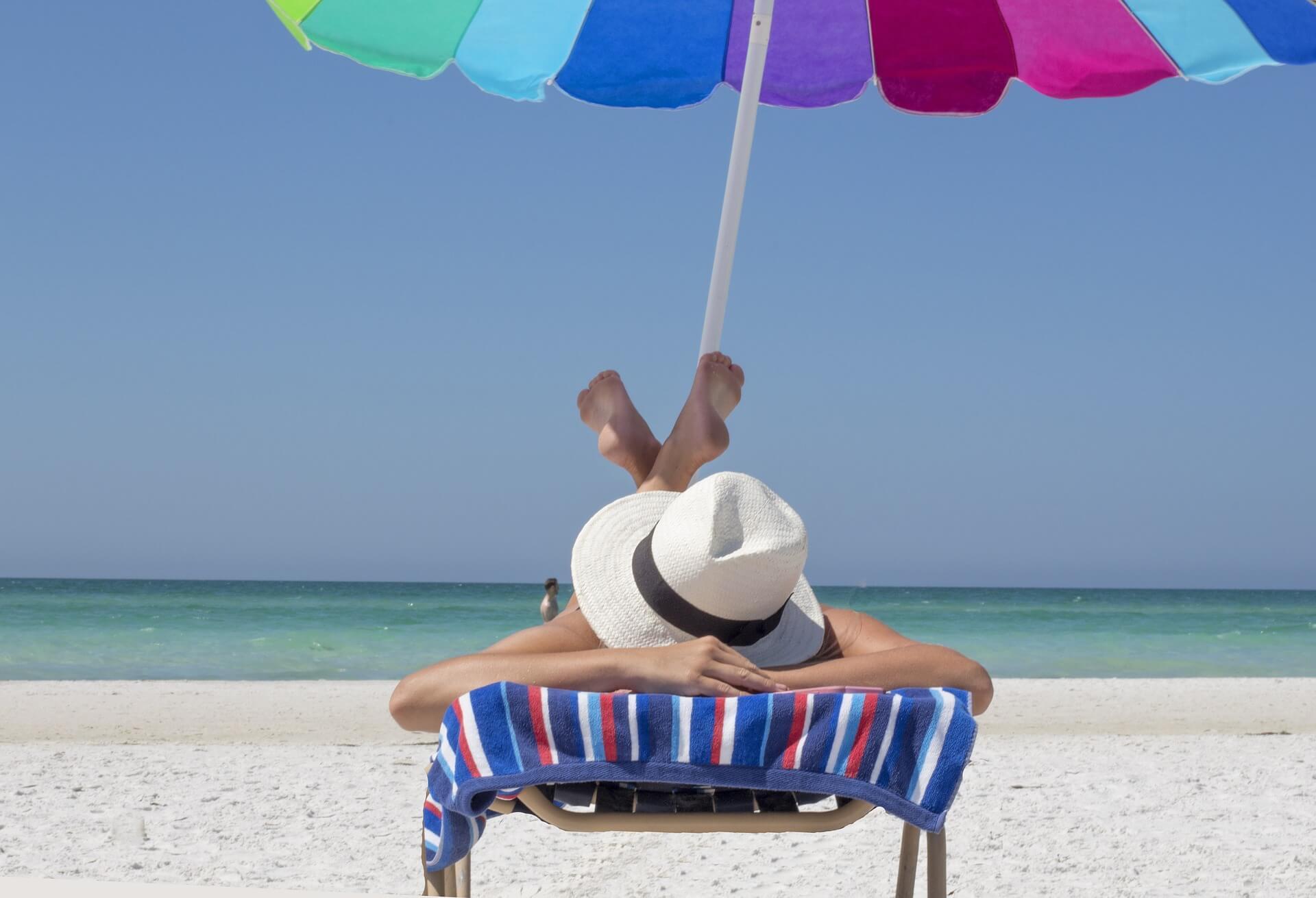 FUN-FILLED SUMMER BEACH DAY
